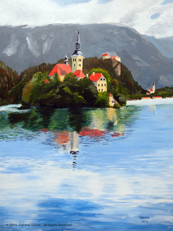 02b Lake Bled (Sold)