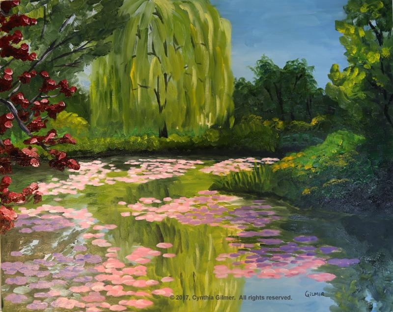 01a Monet's Garden
