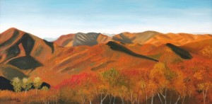 Three Ridges in Autumn