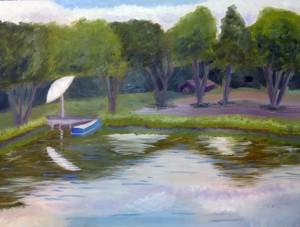 Pond at Nimrod Hall 2014 sm