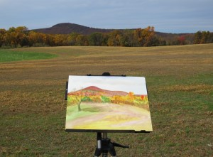 Sugarloaf Watercolor