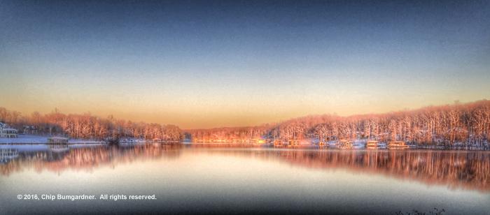 Chip B's Lake Anna Sunset