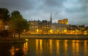 Paris in the Evening Photo